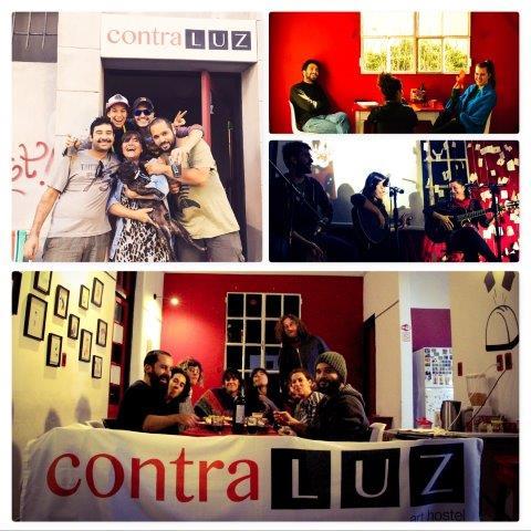 Contraluz Art Hostel Montevideo Uruguay (1)